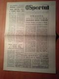 ziarul sportul 25 iunie 1986-stadionul 23 august finala cupei  steaua-dinamo