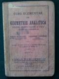 Curs elementar de GEOMETRIE ANALITICA pentru  clasa a VIII - a Editia  I - a, Alta editura