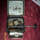 Spirtiera URSS pe benzina, cutie metal