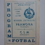 Program fotbal PRAHOVA Ploiesti - CSM Borzesti 06.06.1976