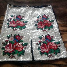 Vand costum national lucrat manual, unicat - Costum populare