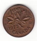 Canada 1 cent 1973 - Elizabeth II, America de Nord