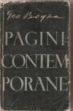 (C4289) PAGINI CONTEMPORANE DE GEO BOGZA, EDITURA TINERETULUI, 1957