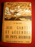 Povesti si Legende Romanesti -culese B Nortines 1946 ,in franceza, Alta editura
