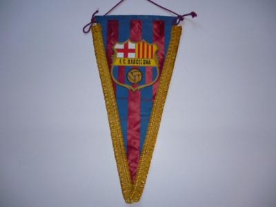 Fanion fotbal FC BARCELONA foto