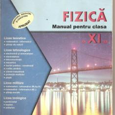 (C4275) FIZICA, MANUAL PENTRU CLASA A XI-A, DE DANIEL OVIDIU CROCNAN, EDITURA SIGMA, 2001 - Carte Fizica