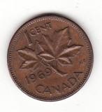 Canada 1 cent 1969 - Elizabeth II