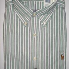 Camasa originala Polo Ralph Lauren - barbati L -100% AUTENTIC - Camasa barbati Polo By Ralph Lauren, Marime: L, Maneca lunga, Verde