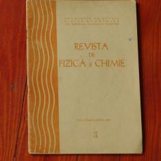 Revista de Fizica si Chimie - anul XXIII - nr 3 martie 1986 - Revista scolara