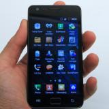 Samsung Galaxi S2 - Telefon mobil Samsung Galaxy S2, Negru, 16GB, Neblocat