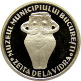 MEDALIE 2003 - ZEITA DE LA VIDRA / PALATUL SUTU  ARGINT UNC  PROOF