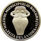 MEDALIE 2003 - ZEITA DE LA VIDRA / PALATUL SUTU ARGINT UNC PROOF - Medalii Romania