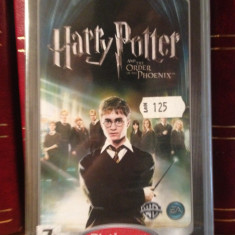 HARRY POTTER AND THE ORDER OF THE PHOENIX - JOC NOU,SIGILAT PENTRU PSP