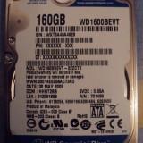 HDD laptop 160GB SATA, 100-199 GB, Rotatii: 5400