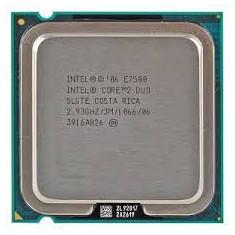 Intel Core2Duo Processor E7500  LGA775 (3M Cache, 2.93 GHz, 1066 MHz FSB)
