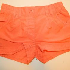 Pantaloni pantalonasi scurti pentru copii, marimea 7 ani, marca In Extenso, Culoare: Orange, Orange, Fete
