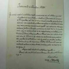 VECHI DOCUMENT 1901 - SEMNAT MITROPOLIT VICTOR MIHALY - IN LEGATURA CU CONSTRUCTIA BISERICII GRECO CATOLICE DIN DATES SI APROBAREA UNEI SPONSORIZARI - Pasaport/Document