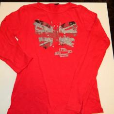 Bluza bluzita pentru copii, marca Zara, pentru 11-12 ani, pana la 152 de cm, Culoare: Rosu, Fete