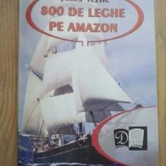 Jules Verne - 800 de leghe pe Amazon - Carte de povesti