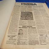 ''PRESA'' * ZIARUL DEMOCRATIEI PRAHOVENE - ANUL III [ AN COMPLET ]-PLOESTI- 1947