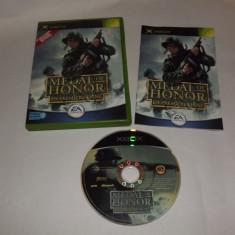 Joc Xbox Classic - Medal of Honor Frontline - Jocuri Xbox Altele, Actiune, Toate varstele, Single player