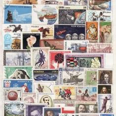 271 - Lot timbre stampilate si nestampilate diverse tari