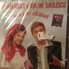 MIOARA VELICU & BENONE SINULESCU - ANII S-OR CALATORI -ELECTREC (CD NOU, SIGILAT) - Muzica Populara electrecord