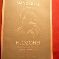 Boethius - Mangaierile Filozofiei - Ed.Casa Scoalelor 1943