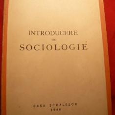 Mihai Ralea - Introducere in Sociologie - Ed. 1944