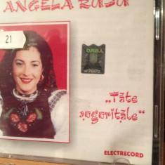 ANGELA RUSU - TATE SOGORITELE - CD ELECTRECORD - NOU/SIGILAT - Muzica Populara