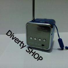 Boxa cu radio si MP3 player cu radio slot micro SD si acumulator intern  Model Nou