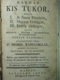 HARTA VECHE TRANSILVANIA SI UNGARIA  1792 CUPRINSE INTR-UN RAR MANUAL DE EPOCA, Alta editura