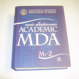 MIC DICTIONAR ACADEMIC ~ literele Mi - Z ~