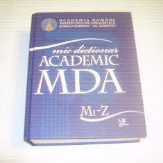 MIC DICTIONAR ACADEMIC ~ literele Mi - Z ~ - DEX