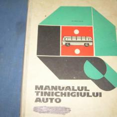 MANUALUL TINICHIGIULUI AUTO - Carti auto
