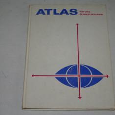 ATLAS der Erdkunde - VEB Hermann Haack Geographisch - Kartographische Anstalt Gotha - 1989
