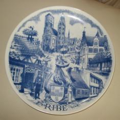 FARFURIE din ceramica - suvenir DANEMARCA