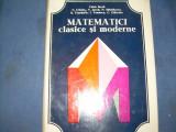 MATEMATICI CLASICE SI MODERNE -CAIUS IACOB