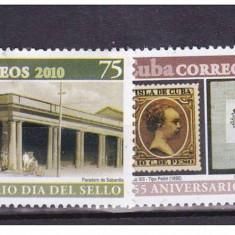 CUBA 2010, 155 de ani Primele Marci Postale din CUBA, serie neuzata, MNH - Timbre straine, Nestampilat