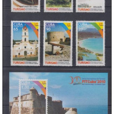 CUBA 2010, Peisaje turistice, serie neuzata, MNH - Timbre straine, Nestampilat
