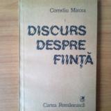 G1 Discurs despre fiinta - Corneliu Mircea - Filosofie