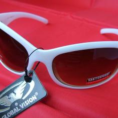 Ochelari de soare Sierra, rame sidefii, lentile maro; de la Global Vision-SUA ! - Ochelari de soare Global Vision, Unisex