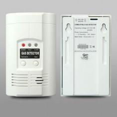 Alarma Senzor Detector Tester GAZ METAN, PROPAN, GPL, MONOXID DE CARBON CO - Senzor de fum