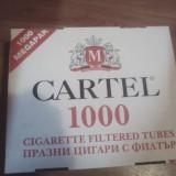 Tuburi cartel 1000 25ron cutia - Foite tigari
