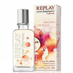 Replay Your Fragrance! Refresh EDT 40 ml pentru femei - Parfum femeie Replay, Apa de toaleta