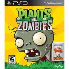 PE COMANDA Plants vs Zombies PS3 - Jocuri PS3, Arcade, 3+, Single player