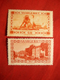 Serie Uzuale- Privelisti Ind. 1930 SAAR ocup.franc. ,2 val.sarn., Europa