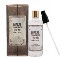 Diesel Fuel for Life Pour Homme Eau De Cologne 120 ml pentru barbati - Parfum barbati Diesel, Apa de colonie, 125 ml
