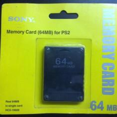 OFERTA Card memorie modat 64 MB - Memory card Sony PS2  Playstation Modare Soft