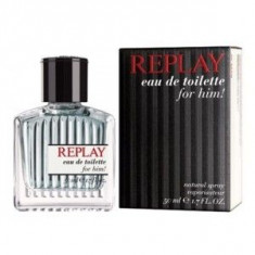 Replay Replay For Him EDT 30 ml pentru barbati - Parfum barbati Replay, Apa de toaleta